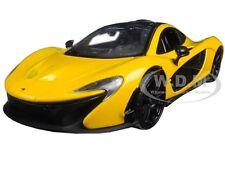 MCLAREN P1 YELLOW 1:24 DIECAST MODEL CAR BY MOTORMAX 79325
