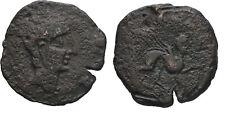 Ancient Greece 2 Cent BC Celtic IBERIA SPAIN SEMIS CASTULO Spinx Large AE