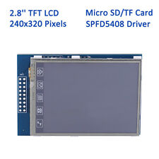 2.8 Inch 240x320 TFT LCD Display Touch Screen Module w/ SD Slot For Arduino UNO