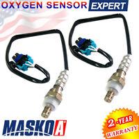 2PC Oxygen O2 Sensor for Buick Chevrolet GMC Hummer Isuzu Pontiac Saab Saturn