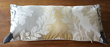 Laura Ashley Bolster Cover Vittorio Gold.   Bolster Oblong Cushion Cover. New!