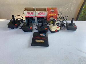 Atari 2600 Contollers and parts Nintendo Super Mario Brothers Game Lot of 6