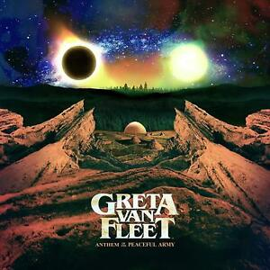 GRETA VAN FLEET ANTHEM OF THE PEACEFUL ARMY CD (Released October 19th 2018)