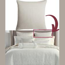 NEW $135 Hotel Collection Plume (1) Euro European Sham Pillow Case #226