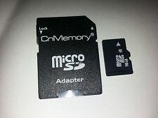 CnMemory Micro SDHC Class 4  16 GB mit Adapter - Neu