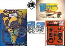 Suzuki RM 250 99-00 Mitaka Bottom End Engine Rebuild Kit Rod Mains Gasket & Seal