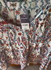BNWT Ladies Bon Marche''  ''Persian Artisan'' Blouse Size 24  Was £22 New.