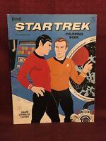 Star Trek Coloring Book Saalfield C1856