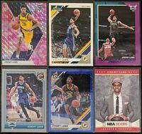 Lot of (6) Jeremy Lamb, Including Donruss /349, Mosaic/Optic & NBA Hoops Rookie
