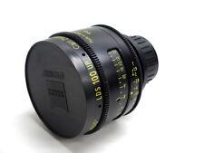 Arri LDS Ultra Prime 100mm T1.9 Zeiss PL mount cinema lens PL-LDS for super 35mm