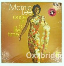 SEALED  Mamie Lee Once In A Lifetime ORIGINAL 1966 MONO Northern Soul Jazz LP