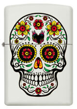 NEW ZIPPO,SUGAR SKULL DAY OF THE DEAD SKULL FAST FREE SHIPPING GREAT GIFT
