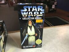 "1997 Kenner Star Wars Collection Series 12"" Inch Figure MIB - OBI-WAN KENOBI"