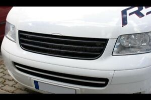 For VW T5 Transporter Bus Badgeless Debadged Sport Front Grill w/o Emblem 03-09