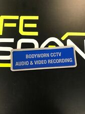 FULLY Encapsulated Badge 135mm Body Worn CCTV audio And Video Recording Security