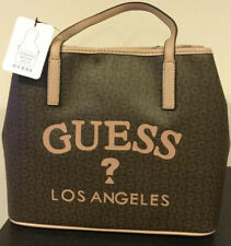 "NWT GUESS Women's ""Milington"" 2PC Tote Handbag  Natural/Multi New  SV724924"