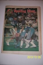 1978 Sporting News DALLAS Cowboys ROGER STAUBACH No Label NFL Preview Edition NL