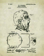 Dentist Patent Poster Art Print Vintage Dental Instruments Tools Chairs PAT180