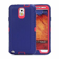 For Samsung Galaxy Note 3 Defender Outer Case w/Screen & Holster Fit Otterbox