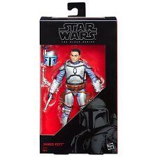 Star Wars The Force despierta Negro Jango Fett-serie 6 Pulgadas Nuevo En Mano