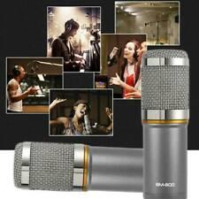 BM 800 Kondensator Microphone Mikrofon Kit Komplett Set für Live Studio grau