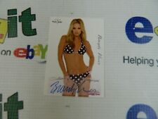 """autographed Bench Warmer Cards """"BRANDY FLORES"""" From Series In 2005"""
