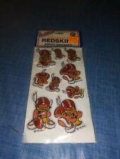 Vintage 1983 Washington Redskins Huddles Puffy Stickers Sealed NIP!