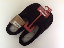 New Dearfoams Genuine Beautiful Super Soft Black Women's Slippers - US 7 Medium