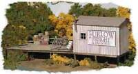 BAR MILLS BUILDINGS 712 HO Furlow Freight Transfer Railroading Kit FREE SHIP