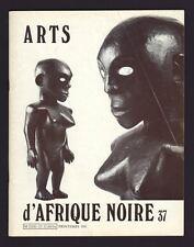 revista blanco D ARTES África NEGRO números 37 por Raoul Lehuard 1981