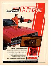 1969 DODGE CHARGER R/T  -  CHEVROLET CORVETTE  ~  NICE COLOR VERSION DIXCO AD