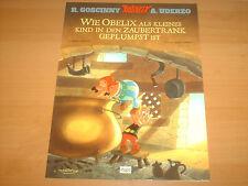 Asterix & Obelix WIE OBELIX ALS KLEINES KIND IN DEN ZAUBERTRANK GEPLUMST IST NEU