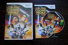 Jeu STAR WARS THE CLONE WARS pour Nintendo Wii PAL COMPLET (CD OK)