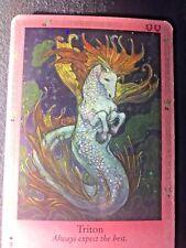 BELLA SARA TRADING CARD~MYTHOLOGY~UK-#S32/34 TRITON*SHINY FOIL*