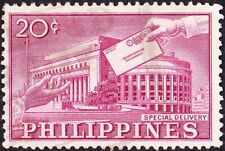 Philippines - 1962 - 20 Cents Lilac Rose Post Office Special Delivery Issue #E12