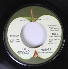 Rock 45 Wings - I Lie Around / Live And Let Die On Apple
