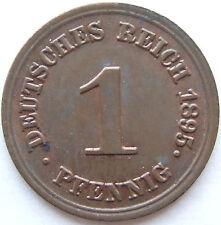 TOP! 1 Pf 1895 E en PAS EN CIRCULATION / PIÈCE DE MONNAIE RARE