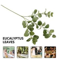 CA Artificial Leafs EucalyptCA Green Plant Silk Flowers Nordic Home Decor CA
