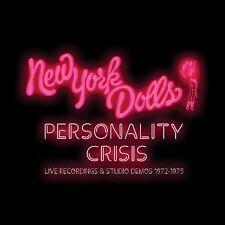 NEW YORK DOLLS - PERSONALITY CRISIS-1972-1975 (5CD BOXSET)  5 CD NEW!