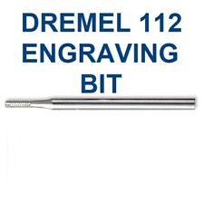 """NEW DREMEL DETAIL ENGRAVING CUTTER 1/16"""" POINT BIT # 112, 3/32' SHANK"""