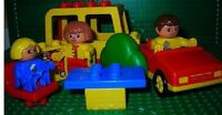 Lego Duplo Wohnwagen Camping Set Figur Kind Familie  Motivsteine 2630 Auto