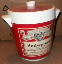 Vintage Budweiser Ice Bucket Thermo-Serv Beer Anheuser Busch Inc Usa made