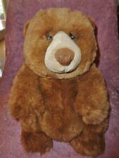 """Bear Brown 12"""" Dakin Applause JASPER Teddy Lou Rankin Friends Stuffed Plush Toy"""