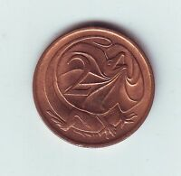 1978 2 Two Cent Cents Coin Australia  Q-587
