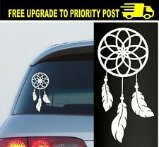 DREAM CATCHER QUOTE STICKER DECAL CAR WINDOW GIRLS CUTE LOVE BELIEVE GIRL