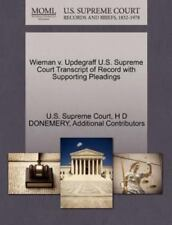 Wieman V. Updegraff U.S. Supreme Court Transcript Of Record With Supporting P...