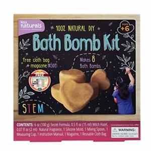 Kiss Naturals DIY Bath Bomb Making Kit – Make Your Own Bath Bomb Kit for Girls