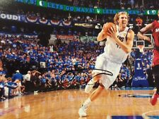 Autographed Dirk Nowitzki 8x10 Dallas Mavericks 2014