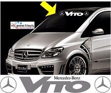 Mercedes Vito screen windscreen sticker vinyl decals