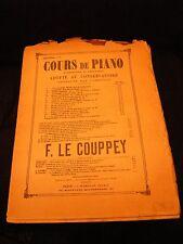 Partition Cours de Piano F Le Couppey Le rythme Music Sheet